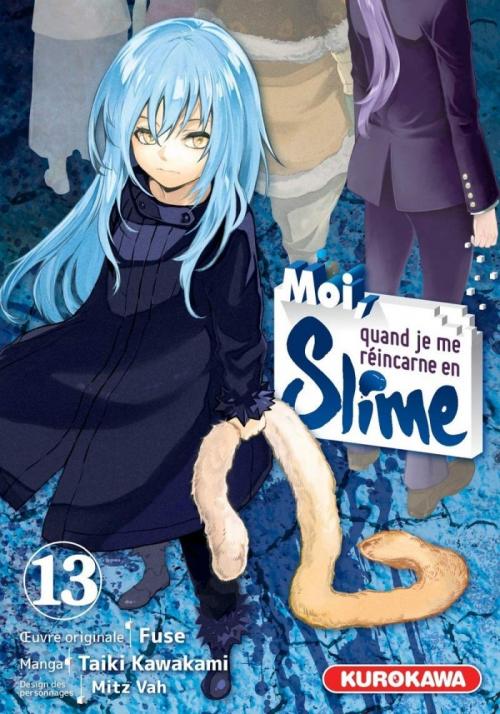 Couverture Moi, quand je me réincarne en Slime, tome 13