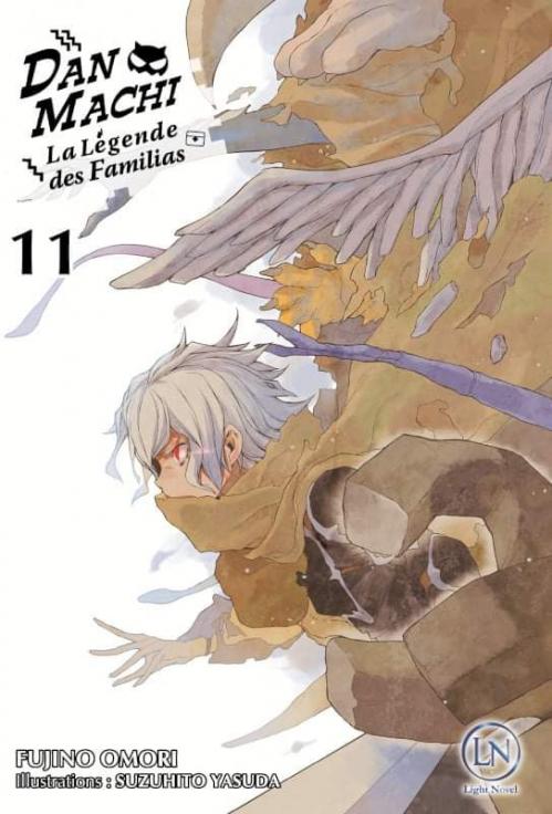 Couverture DanMachi : La légende des Familias (Light Novel), tome 11