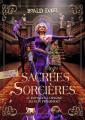Couverture Sacrées sorcières Editions Folio  (Junior) 2020
