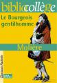 Couverture Le bourgeois gentilhomme Editions Hachette (Biblio collège) 2001