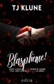 Couverture Blasphème ! Editions MxM Bookmark (Romance) 2020