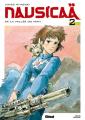 Couverture Nausicaä de la vallée du vent, tome 2 Editions Glénat (Ghibli) 2011