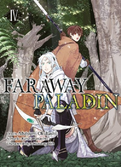 Couverture Faraway Paladin, tome 4
