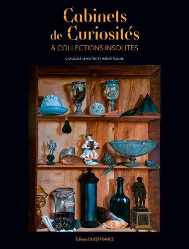 Couverture Cabinets de curiosités