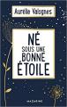 Couverture Né sous une bonne étoile Editions Mazarine 2020