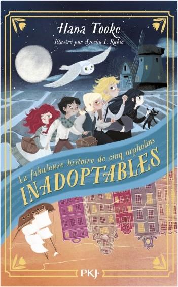 Couverture La fabuleuse histoire de cinq orphelins inadoptables