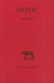 Couverture Les Héroïdes Editions Les belles lettres (Collection des universités de France - Série latine) 2019