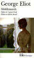 Couverture Middlemarch Editions Folio  (Classique) 2010