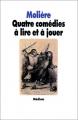 Couverture Quatre comédies à lire et à jouer Editions L'École des loisirs (Médium Poche) 1986