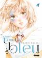 Couverture Une touche de bleu, tome 1 Editions Glénat (Shôjo +) 2021