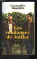 Couverture Les vendanges de juillet suivies de Juillet en hiver Editions Belfond 1999