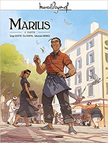 Couverture Marius (BD), tome 2
