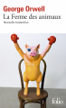 Couverture La ferme des animaux Editions Folio  2021