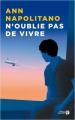 Couverture N'oublie pas de vivre Editions Presses de la cité 2020