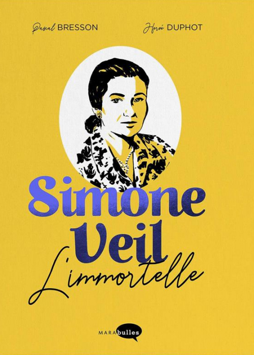 Couverture Simone Veil : L'immortelle