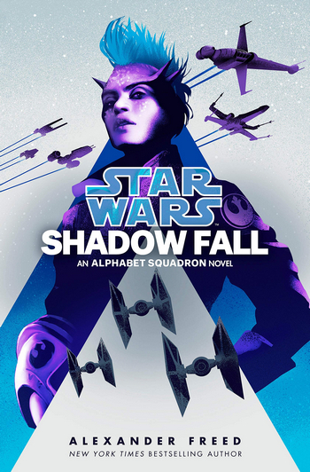 Couverture Star Wars : L'escadron alphabet, tome 2 : Shadow Fall