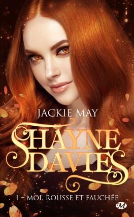 Couverture Shayne Davies, tome 1 : Moi, rousse et fauchée