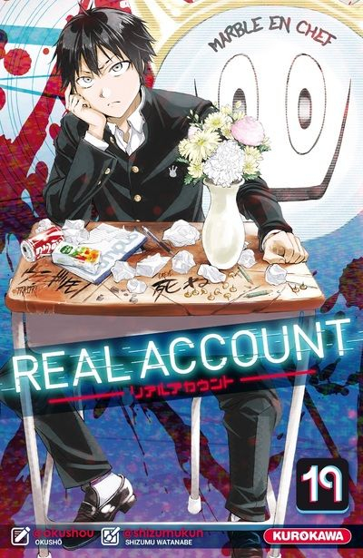 Couverture Real Account, tome 19