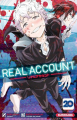 Couverture Real Account, tome 20 Editions Kurokawa (Shônen) 2020
