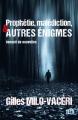 Couverture Prophétie, malédiction, et autres énigmes: recueil de nouvelles Editions du 38 (38 rue du polar) 2020