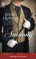 Couverture La chronique des Bridgerton, tome 2 : Anthony Editions J'ai Lu (Pour elle - Aventures & passions) 2016