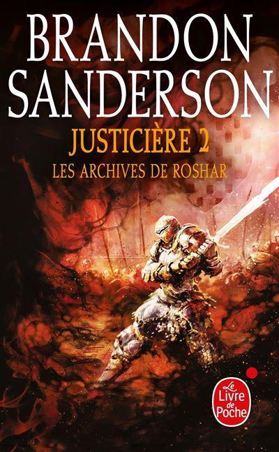 Couverture Les archives de Roshar, tome 6 : Justicière, partie 2