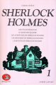 Couverture Sherlock Holmes, intégrale, tome 1 Editions Robert Laffont (Bouquins) 1981