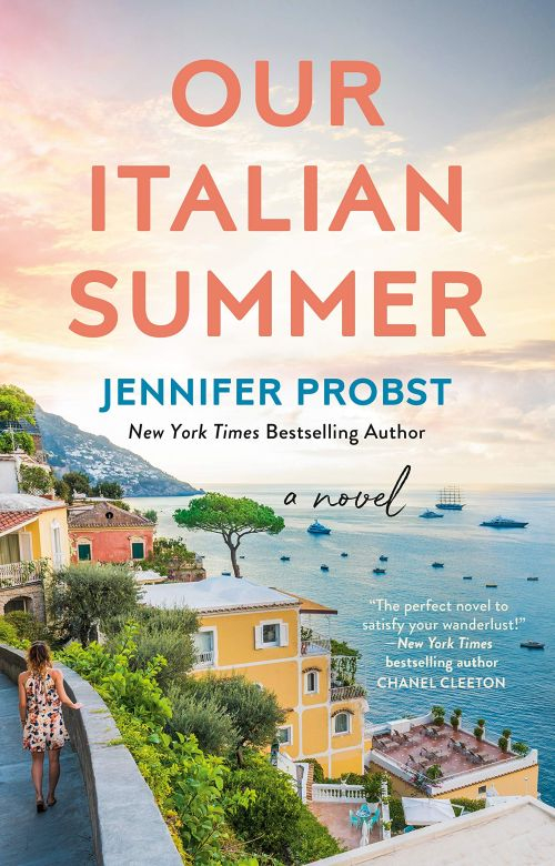 Couverture Our italian summer