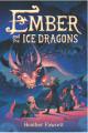Couverture Ambre et les dragons de glace Editions Balzer + Bray 2020