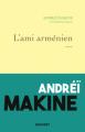 Couverture L'ami arménien  Editions Grasset 2021