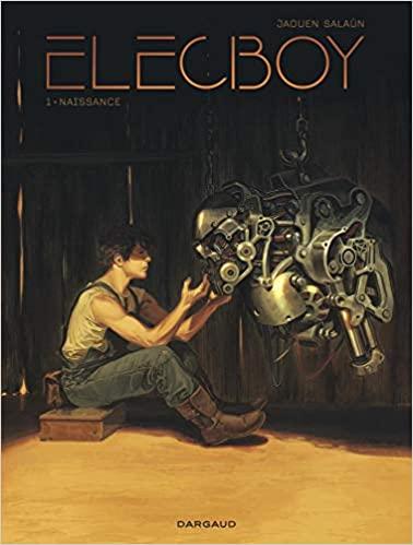 Couverture Elecboy, tome 1 : Naissance