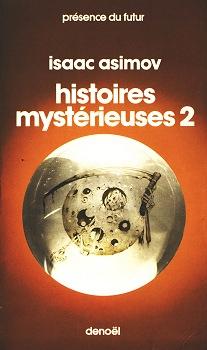 Couverture Histoires mystérieuses, tome 2