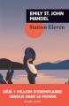 Couverture Station eleven Editions Rivages (Poche - Bibliothèque étrangère) 2018
