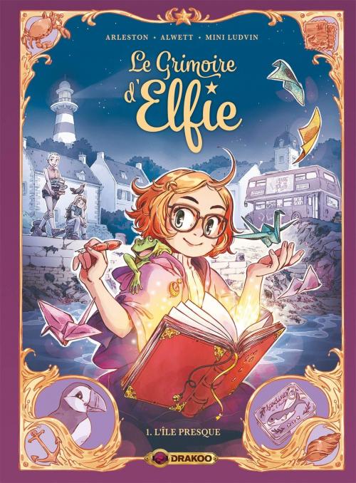 Couverture Le grimoire d'Elfie, tome 1 : L'Île presque