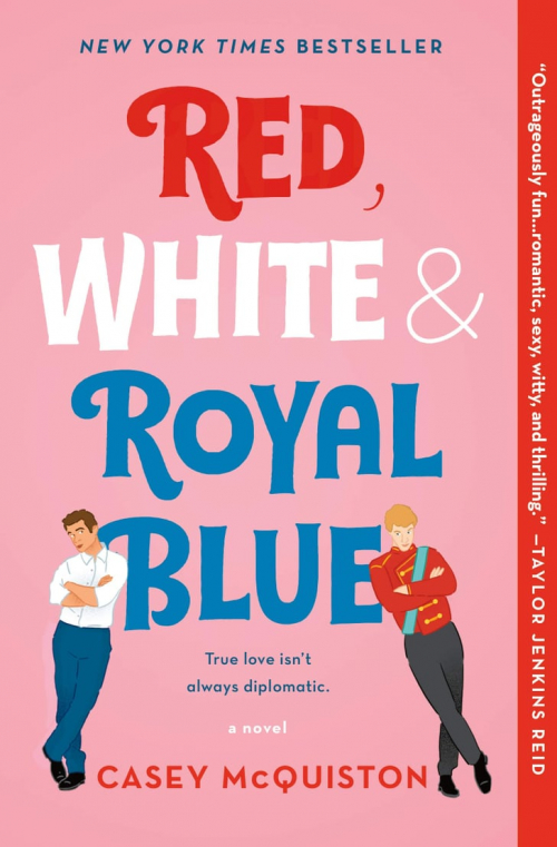 Couverture Red, White & Royal Blue