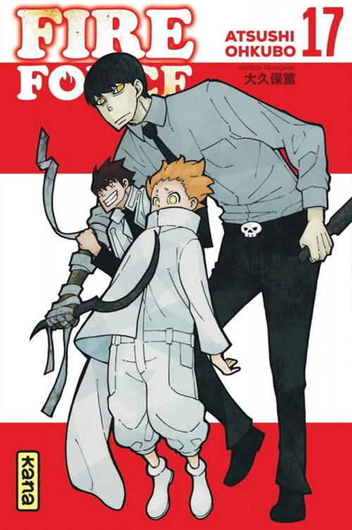 Couverture Fire Force, tome 17