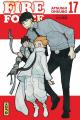Couverture Fire Force, tome 17 Editions Kana (Shônen) 2021