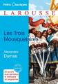 Couverture Les Trois Mousquetaires Editions Larousse (Petits classiques) 2011