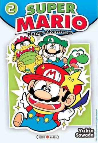 Couverture Super Mario : Manga Adventures, tome 2