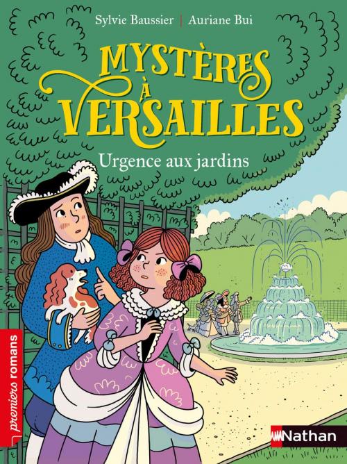 Couverture Mystères à Versailles - Urgence aux jardins