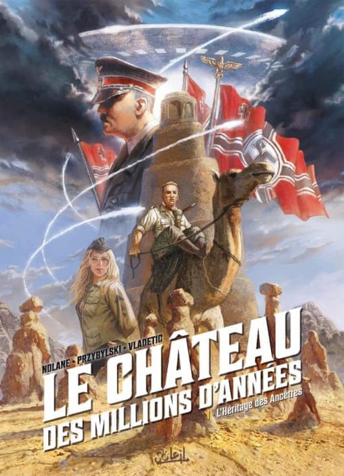 Couverture Le Château des millions d'années (BD), tome 1 : L'Héritage des Ancêtres