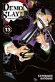 Couverture Les rôdeurs de la nuit / Demon Slayer, tome 13 Editions Panini (Manga - Shônen) 2020