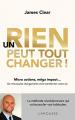 Couverture Un rien peut tout changer ! Editions Larousse 2019