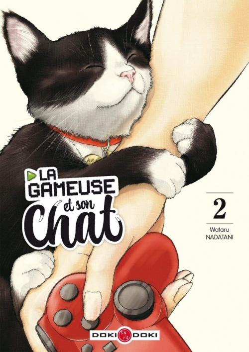 couverture du tome 3 de la gameuse et son chat