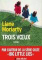 Couverture Trois Voeux Editions Albin Michel 2021