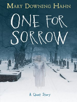 Couverture One for Sorrow