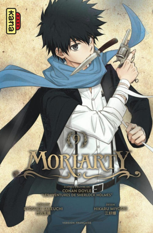 Couverture Moriarty, tome 09