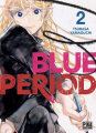 Couverture Blue Period, tome 02 Editions Pika (Seinen) 2021