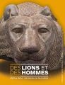 Couverture Des lions et des hommes Editions Gallimard  2019