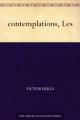 Couverture Les contemplations Editions Une oeuvre du domaine public 2015